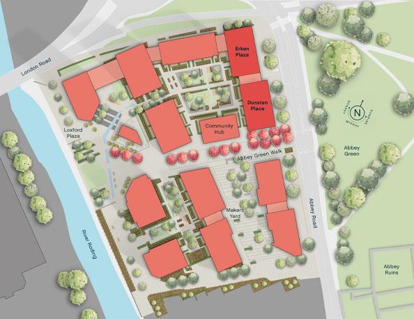 The Development - Abbey Quay - Weston Homes