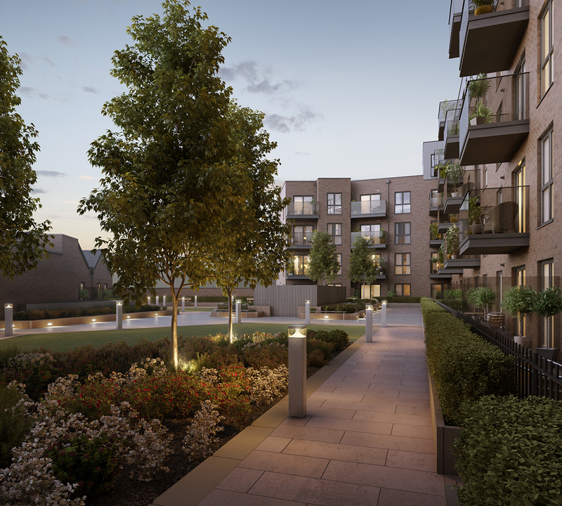 1 & 2 Bed Apartments In RH19