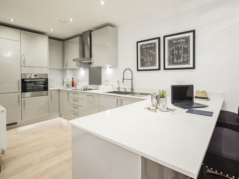 2 Bed Property - Reading Riverside - Weston Homes