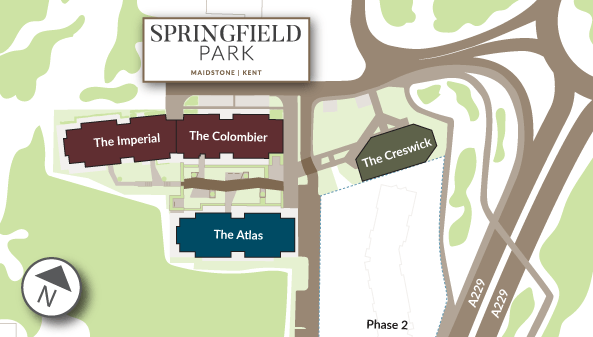 The Development - Springfield Park - Weston Homes