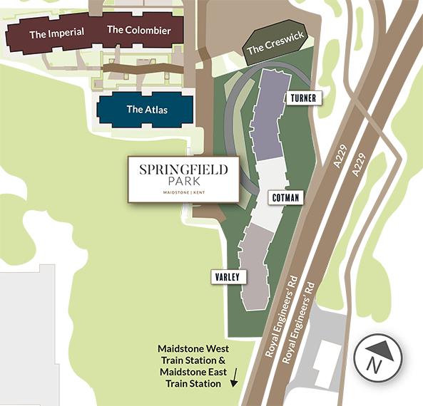 The Development - Springfield Park - Weston Homes