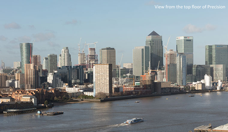 Offering The Very Best Views Of Greenwich And Canary Wharf – The New Skyline Apartments At Precision