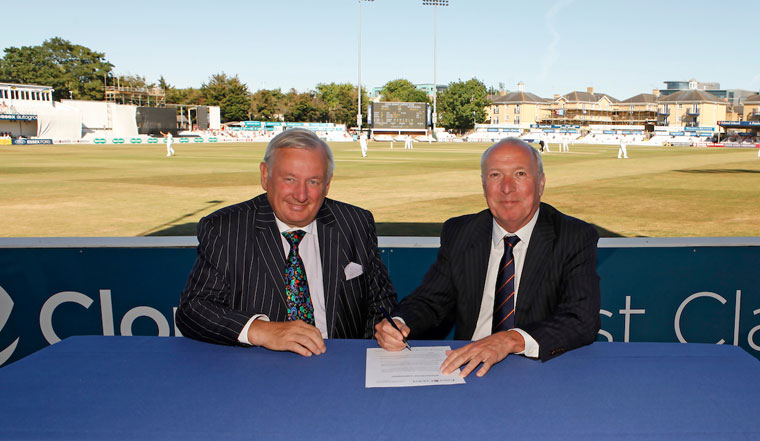 Weston Homes Signs Five-Year Sponsorship Deal With Essex County Cricket Club