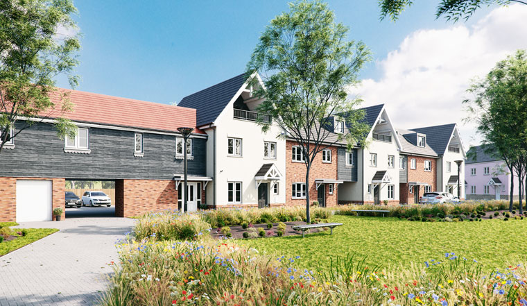 New Homes At Lovats Chase, Buntingford, Now Available
