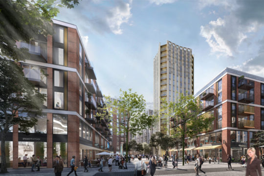 Weston Homes Submit Plans For Regeneration Of Anglia Square In Norwich Into New Mixed Use Urban Quarter