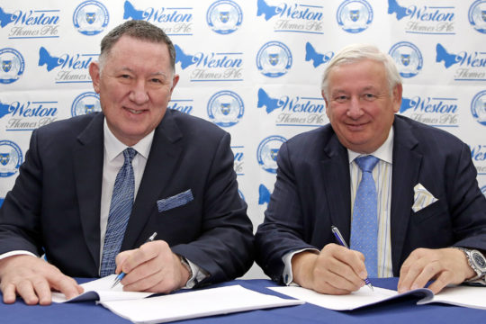 Peterborough United Sign Five-Year Sponsorship Deal With Housebuilder Weston Homes At Club Stadium
