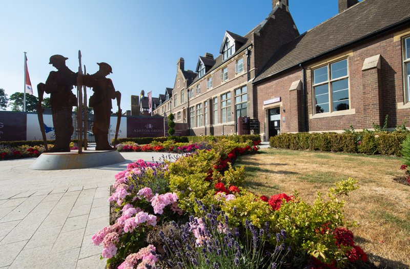Old School Grounds Blossom In Anglia In Bloom Competition