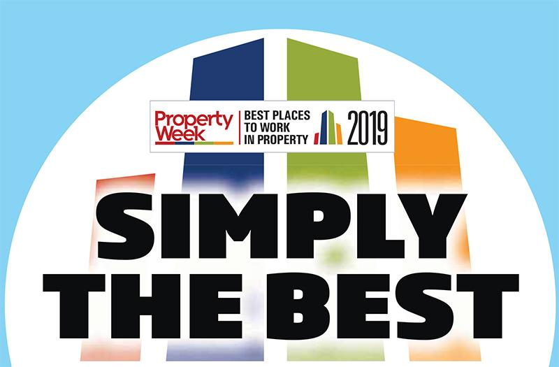 Best Places to Work in Property 2019