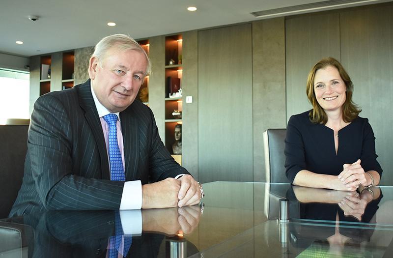 Bob Weston and Suzanne Aplin